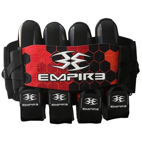 Empire Compressor FT Harness - 4+7 - Red Hex