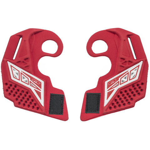 Empire EVS Replacement Ear Pieces - Red / White