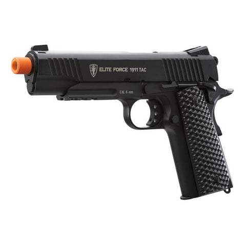 Elite Force 1911 TAC Airsoft Pistol 6 MM - Black