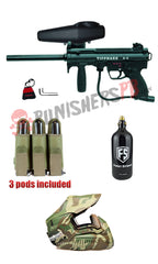 Tippmann Electronic A5 Complete Paintball Gun Package