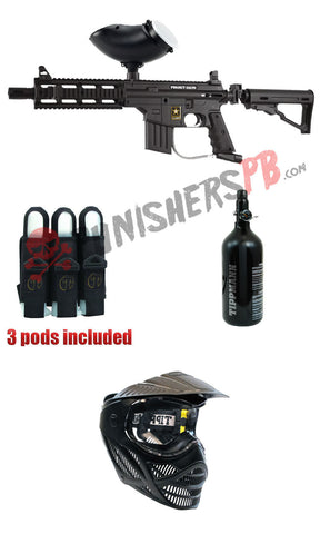 Tippmann Project Salvo Complete Paintball Gun Package
