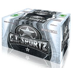 GI Sportz 1 Star Paintballs - Case of 2000