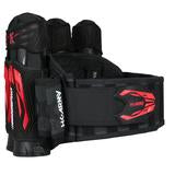 Zero G 2.0 Harness - Black/Red - 4+3+4