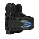Zero G 2.0 Harness - Black/Blue - 3+2+4