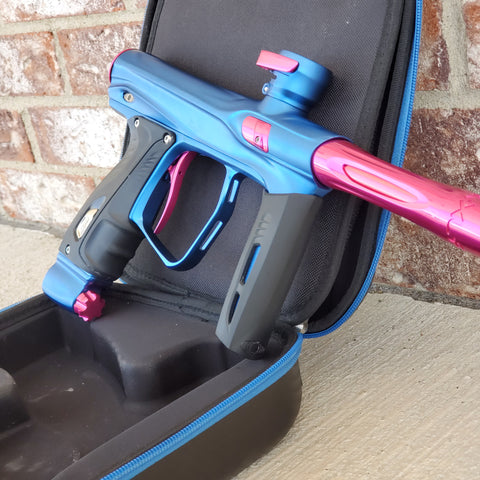 Used SP Shocker XLS Paintball Gun - Blue/Pink