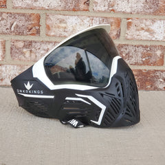 Used Bunker Kings CMD Paintball Mask - Black Storm