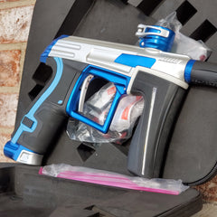 Used Planet Eclipse CS1.5 Paintball Gun - Silver / Blue