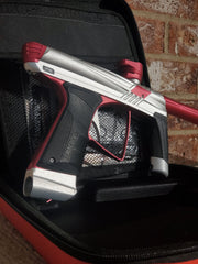 Used MacDev Prime Paintball Marker - Silver / Red