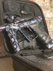 Used DLX Luxe X Paintball Gun - Grey Marble