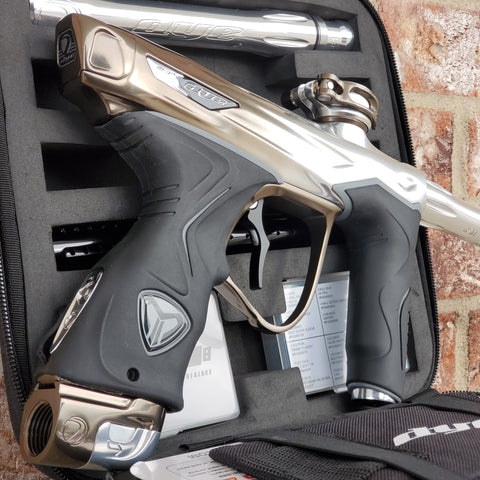 Used Dye M3+ Paintball Gun - Champagne