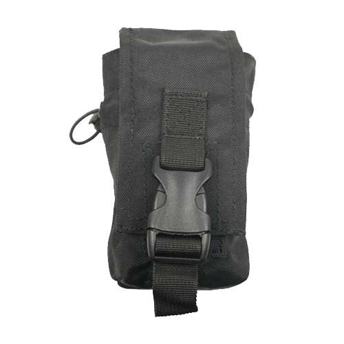 BLACK Small Multi-Use Utility Pouch - Punishers Paintball