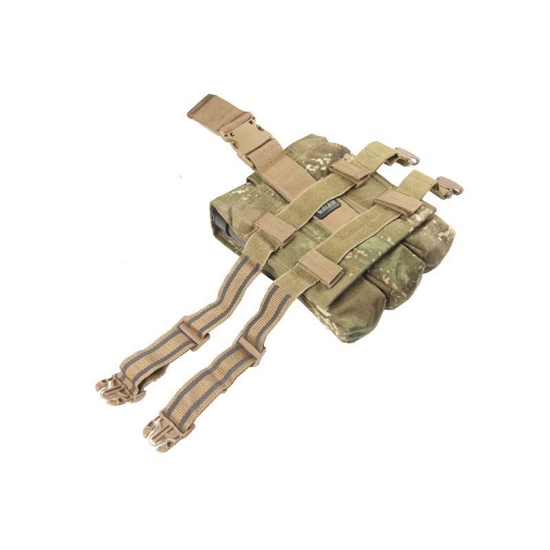 ATPAT Triple Pod Leg Pouch - Punishers Paintball
