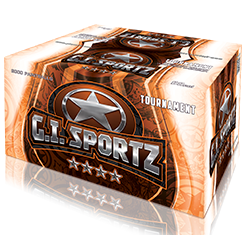 GI Sportz 4 Star Paintballs - Case of 2000