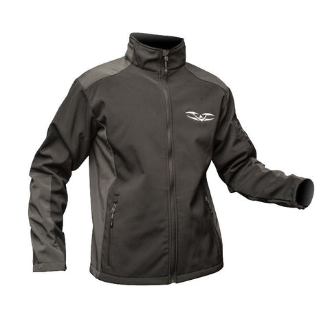 Jacket - Valken Ladies - Weatherproof Softshell - Black/Charcoal