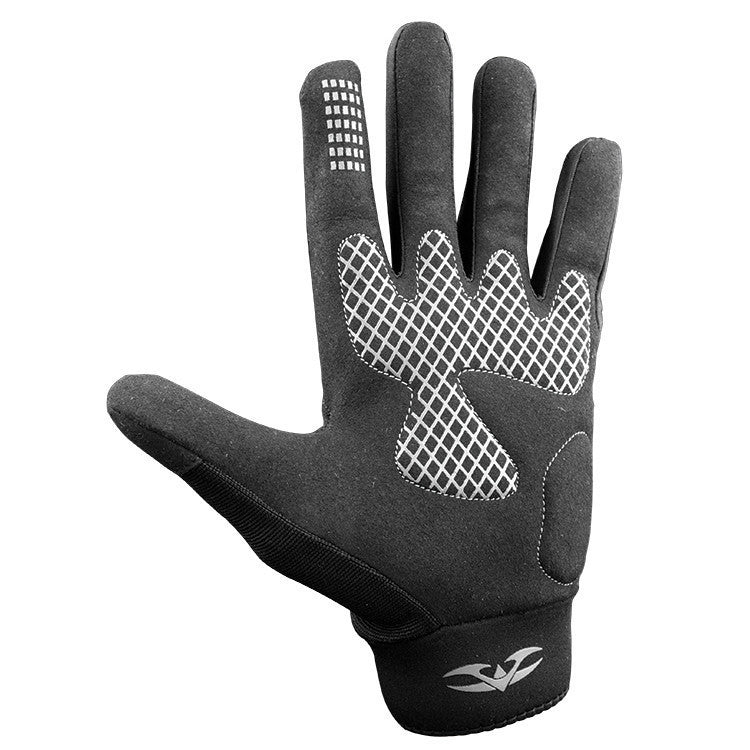 Gloves - Valken Sierra II - Black - Punishers Paintball