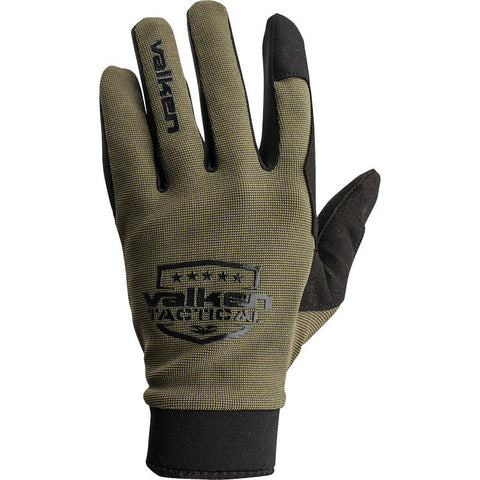 Gloves - Valken Sierra II - Olive - Punishers Paintball