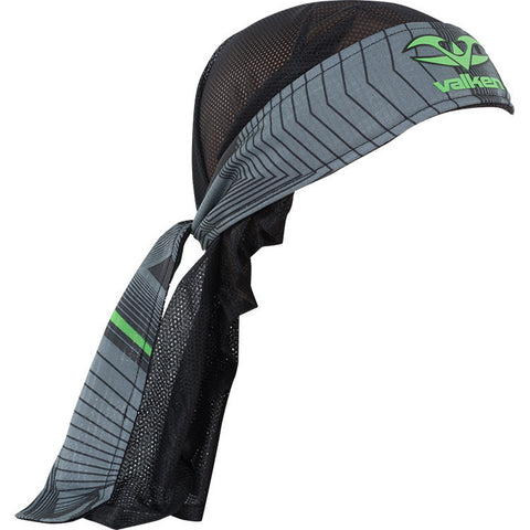 Headwrap - Redemption Vexagon - Neon Green/Grey - Punishers Paintball