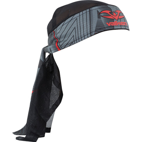 Headwrap - Redemption Vexagon - Red/Grey - Punishers Paintball