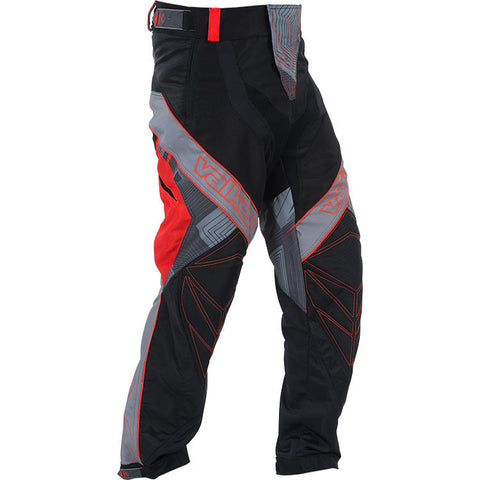 Pants - Valken Redemption Vexagon - Red/Grey