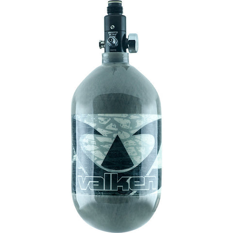 Tank - Valken Air 68/4500 Carbon Fiber - Cool Grey