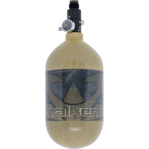 Tank - Valken Air 68/4500 Carbon Fiber - Redemption Gold