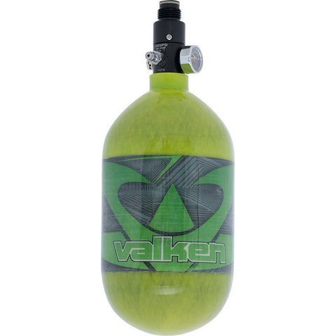 Tank - Valken Air 68/4500 Carbon Fiber - Redemption Green