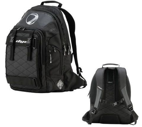 DYE ESCAPE .30 S BACKPACK - BLACK - Punishers Paintball