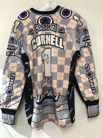 Used Sign Impact Jersey- Cornell