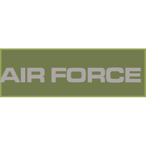 Air Force Patch Large (Olive Drab) - Punishers Paintball