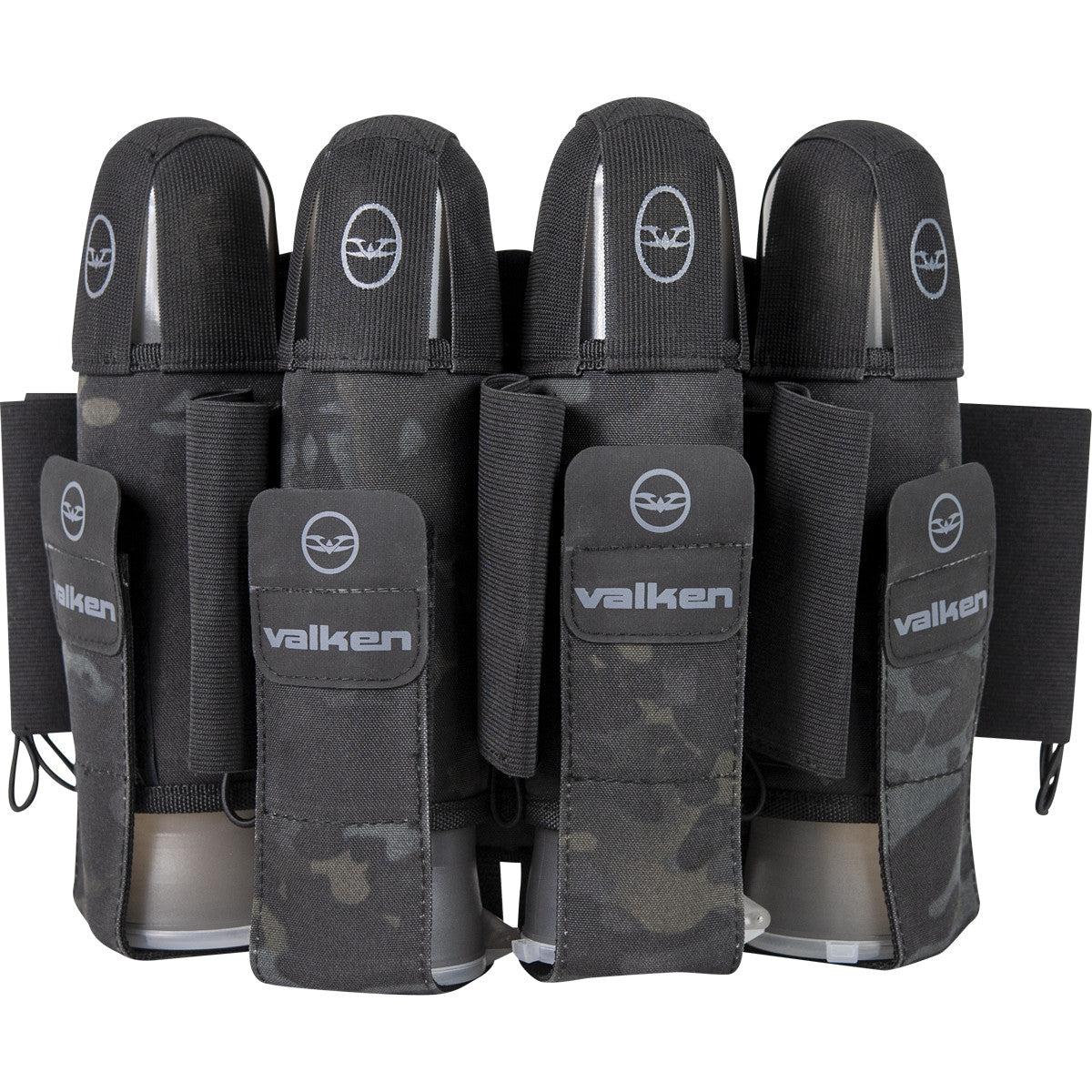 Agility Paintball Pod Pack 4+7 - Black Camo