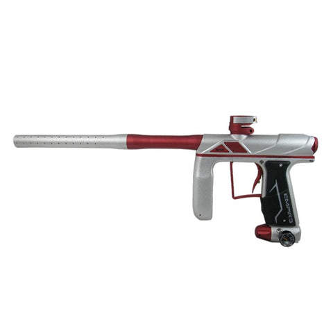 Empire Axe Pro Paintball Marker - Dust Silver / Red