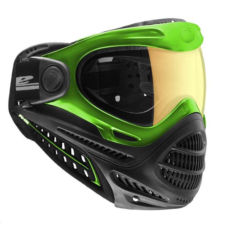 Dye Axis Pro Paintball Mask - Lime Green