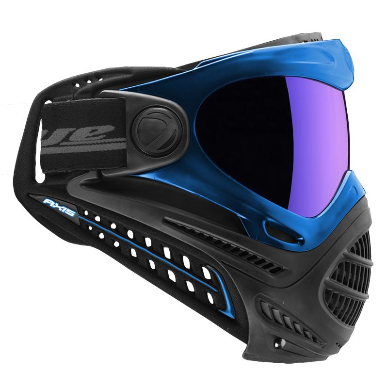Dye Axis Pro Paintball Mask - Blue