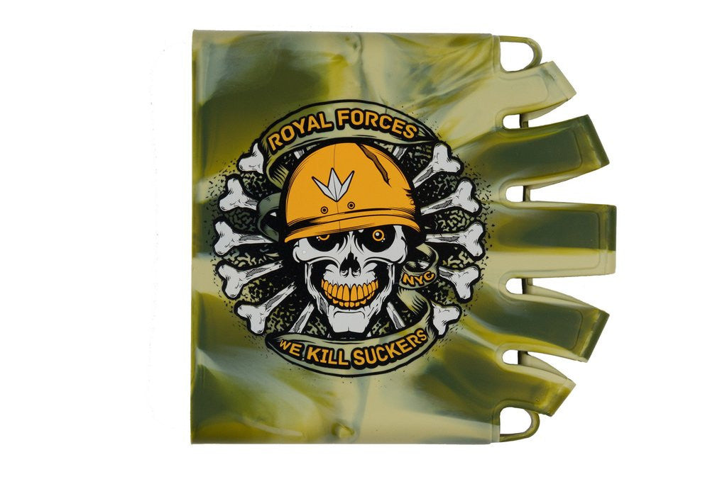 BNKR Bunker Kings Knuckle Butt Paintball Tank Cover - Royal Forces