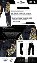 BNKR Bunker Kings Supreme Paintball Pants - Sherwood
