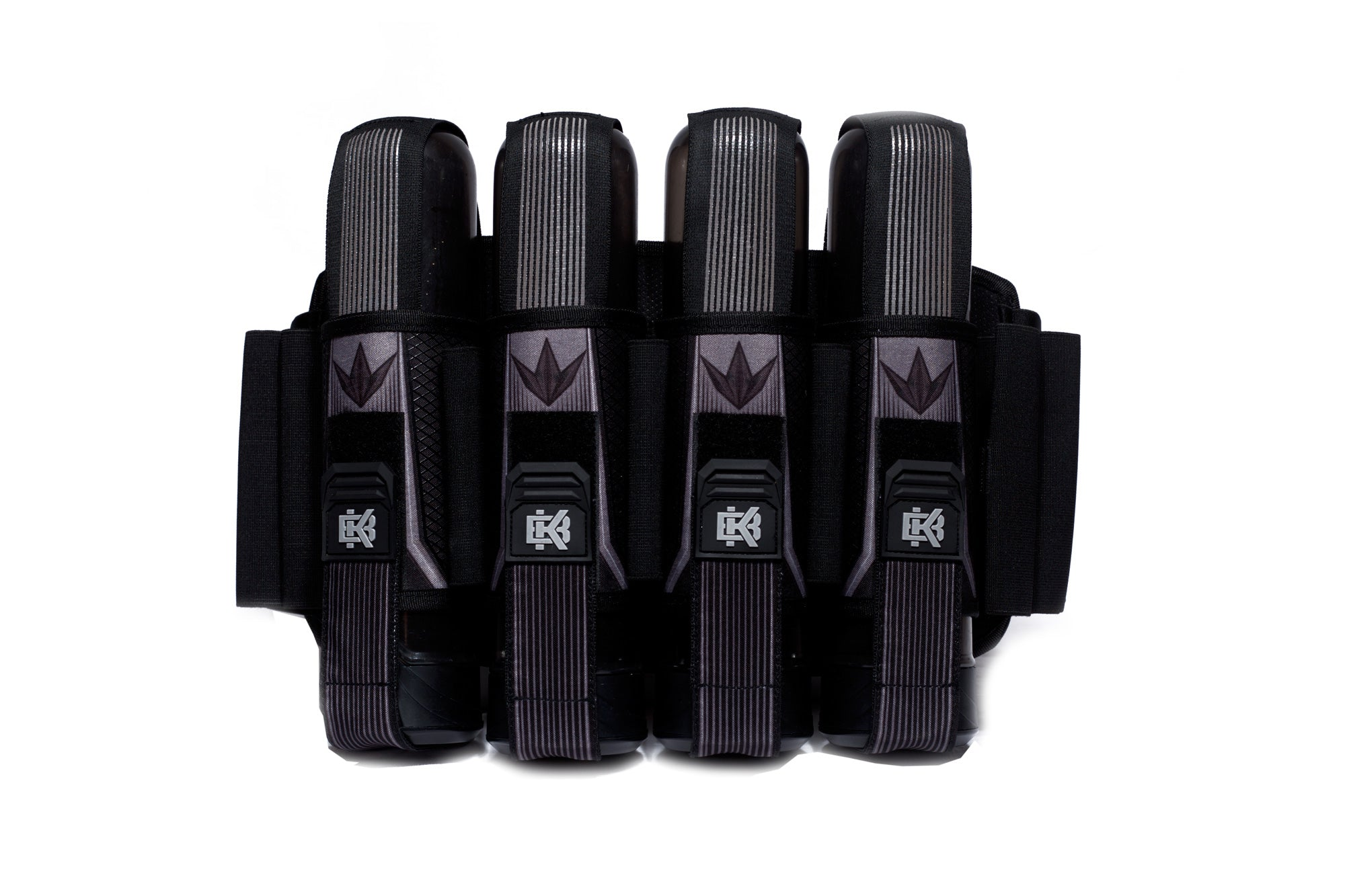 BNKR Bunker Kings Strapped Pod Pack - Stealth Gray 4+7