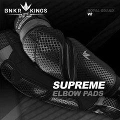 BNKR BunkerKings Royal Guard Paintball Elbow Pads