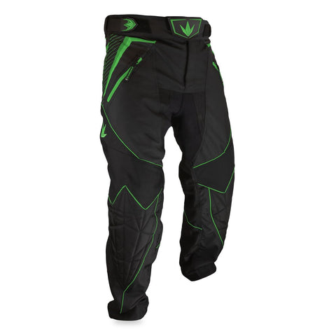 Bunker Kings V2 Supreme Paintball Pants - Lime