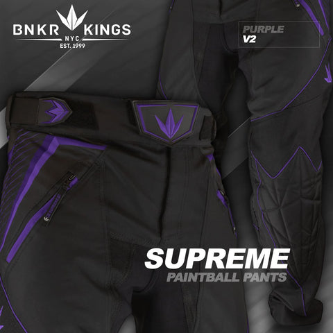 Bunker Kings V2 Supreme Pants - Purple