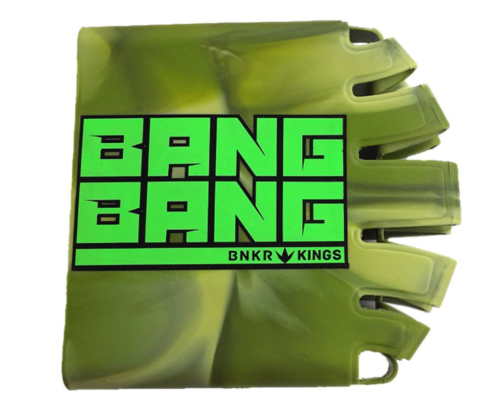 BNKR Bunker Kings Knuckle Butt Paintball Tank Cover - Bang Bang