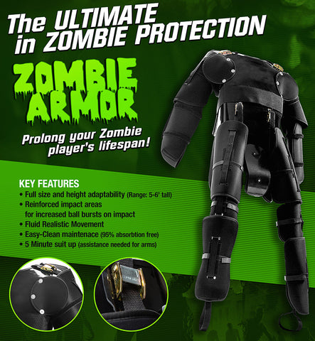 Tippmann Zombie Armor Protection Suit- One Size Fits Most