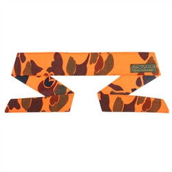 Exalt Paintball Headband - Blaze Orange Woodland