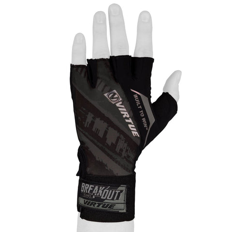 Virtue Mesh Breakout Gloves - Half Finger - Graphic Black