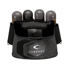 Carbon Paintball CC Harness - 4 Pack - Large/XL - Heather