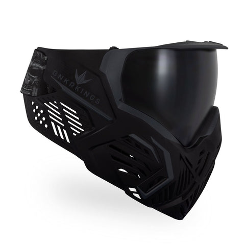 BunkerKings CMD Paintball Mask - Black Samurai