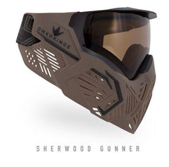 BunkerKings CMD Paintball Mask - Sherwood Gunner