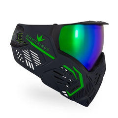 BunkerKings CMD Paintball Mask - Black Acid