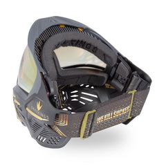 BunkerKings CMD Paintball Mask - Supreme Gold