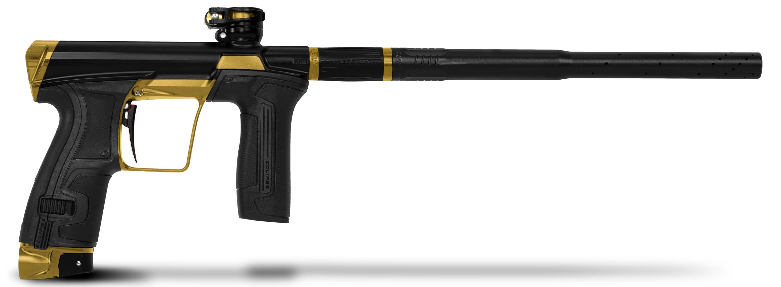Planet Eclipse CS2 Pro Paintball Marker - Black / Gold