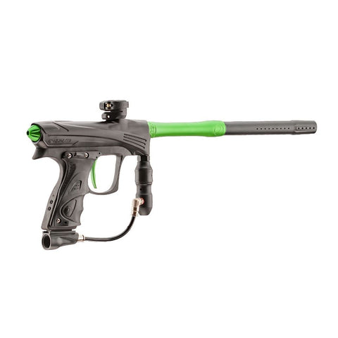 Dye CZR Electronic Paintball Gun - Black / Lime